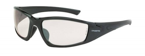 Crossfire RPG 23615 Indoor/Outdoor, Shiny Pearl Gray Safety Glasses