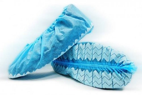 BlueMed Wave Non Slip Shoe Covers - Made in North America
