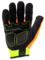 Ironclad IEX-HZI Command Impact Hi Vis Touchscreen Gloves