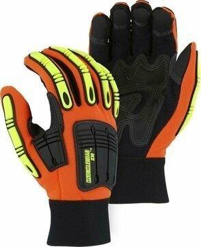 Majestic 21242 Knucklehead Hi Vis Gloves