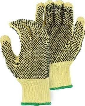 Majestic 3110 PVC Dotted Kevlar Knit Gloves - Dozen - Made in USA