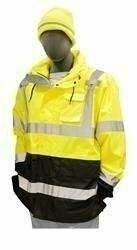 Majestic 75-1307 Hi Vis Rain Jacket- ANSI 3
