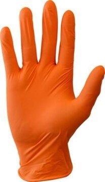 Safety Zone GNPR-1M 4 Mil Orange Nitrile Powder Free Gloves