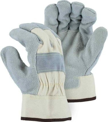 Majestic 1800 Pit Bull Heavy Duty Leather Palm Gloves