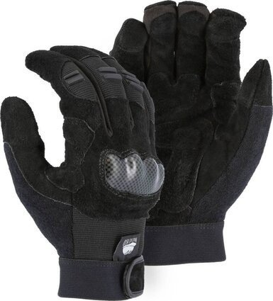 Majestic 2123 Knuckle Guard Heavy Duty Gloves