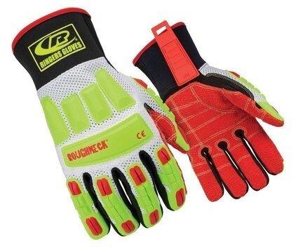 Ringers R-298 Roughneck Vented Mesh Kevloc Palm Cut Resistant Level 3 Gloves