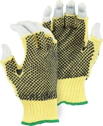 Majestic 3110F Fingerless Kevlar Gloves - Dozen - Made in USA