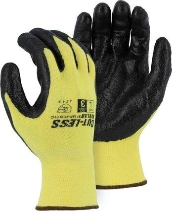 Majestic 3227 Cut-Less With Kevlar® 13-Gauge Knit Glove with Foam Nitrile Palm Coating