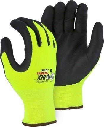 Majestic 3228HYT Hi-Vis SuperDex Palm Coated Gloves