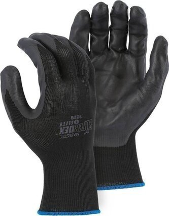 Majestic 3229 SuperDex Heavyweight Foam Nitrile Palm Coated Gloves