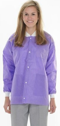 ValuMax 3630 Extra Safe SMS Hip Length Lab Jacket - Unisex - with Pockets