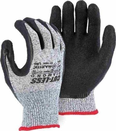Majestic 37-1550 Dyneema 13-Gauge Cut-Less Diamond Gloves Cut Level 5