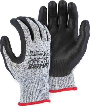 Majestic 37-1565 Dyneema 13-Gauge Cut-Less Diamond Gloves Cut Level 5