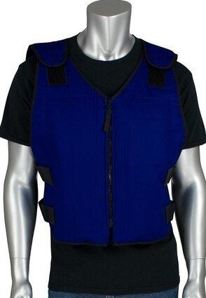 PIP 390-EZFRPC EZ-Cool Premium FR Phase Change Cooling Vest with Insulated Cooler Bag