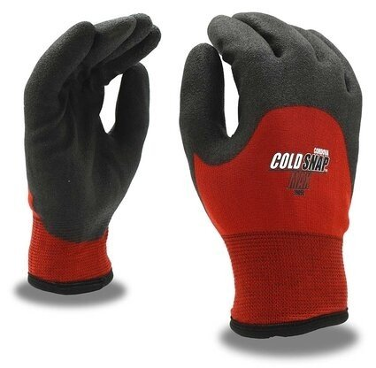 Cordova 3905 Cold Snap Max Two-Ply Thermal Shell with 3/4 Foam PVC Palm Gloves