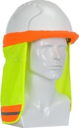 PIP 396-700FR FR Treated Hi-Vis Hard Hat Neck Shade