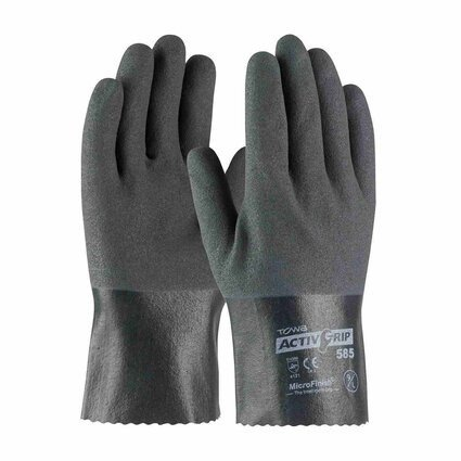 PIP 56-AG585 ActivGrip Nitrile Coated Gloves with Cotton Liner and MicroFinish