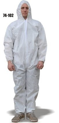 Majestic 74-102 ComforTEX Microporous Coveralls with Attached Hood