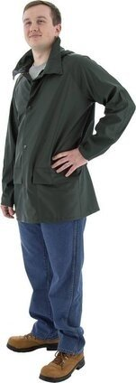 Majestic Wear Hooded Rain Jacket and Pants
