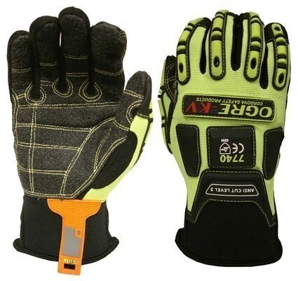 Cordova Ogre-KV 7740 Kevlar Cut Level A3 Impact Gloves