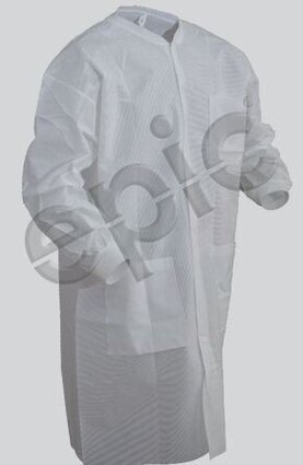 Tian's 864895 SMS Cleanroom Lab Coats with Pockets