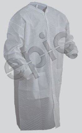 Tian's 864895 SMS Cleanroom Lab Coats With/Without Pockets