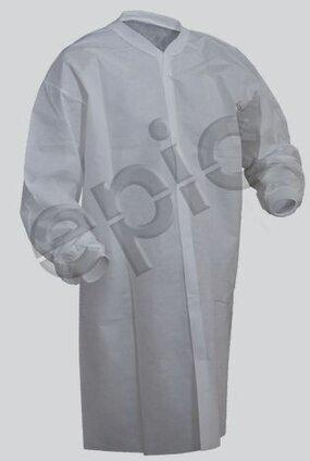 Tian's 864895NP SMS Cleanroom Lab Coats - No Pockets
