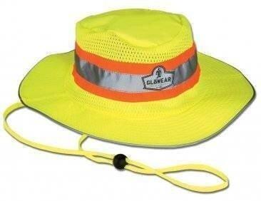 Ergodyne GloWear 8935 Hi-Vis Ranger Hat - ANSI 2