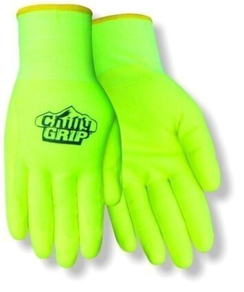 Chilly Grip A319 Water Resistant Hi-Vis Heavyweight Thermal Lined Gloves