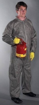 West Chester C3902 Posi M3 Gray Coveralls with Elastic Wrist and Ankle