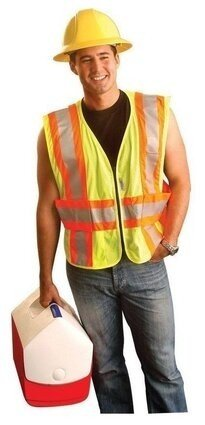 Occunomix Premium Mesh Two-Tone Vest ANSI 2