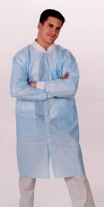 ValuMax 3290 Isolation SMS Lab Coat With Pockets