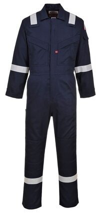 Portwest UFR21 Light Weight Non Static FR Coveralls