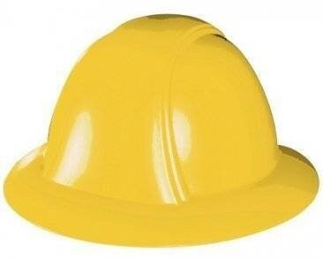 Occunomix Vulcan Full Brim Hard Hat w/ Ratchet Suspension - VF200