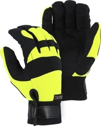 Majestic A2P37Y Alycore Yellow Knit Cut Resistant Level 5+ Gloves