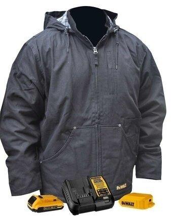 DeWalt DCHJ076A Heavy Duty Battery Heated Work Jacket