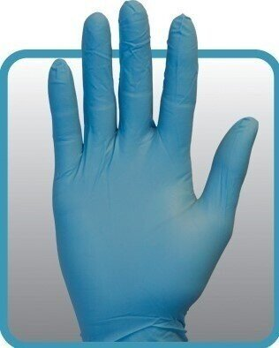 Safety Zone GNPR-1A 4 Mil Powder Free Nitrile Gloves
