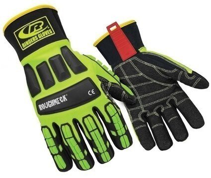 Ringers R-297 Roughneck Kevloc Palm Cut Resistant Level 3 Gloves