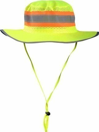 Occunomix LUX-RNG-ST Hi Vis Ranger Hat With Solid Top