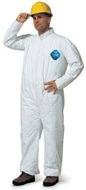 Dupont Tyvek Coveralls with Collar Open Wrists and Ankles # TY120