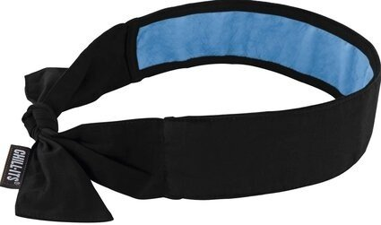 Ergodyne Chill-Its 6700CT Evaporative Cooling Bandana with Cooling Towel And Tie