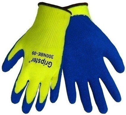 Global Glove Hi Vis Gripster #300NBE Rubber Dipped Gloves