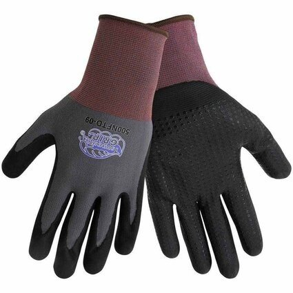 Global Glove #500NFTD Tsunami Grip New Foam Technology With Nitrile Dots