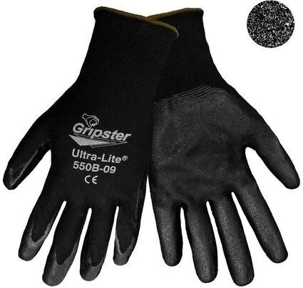 Global Glove #550B Gripster Ultra-Light Machine Foam Nitrile Dipped Gloves