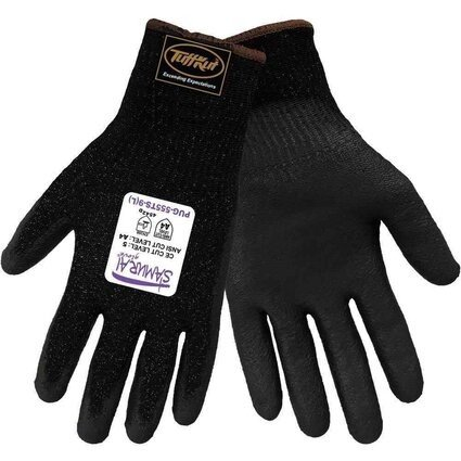 Global Glove PUG555TS Samurai Gloves - Black Tuffkut liner with TouchScreen Capability