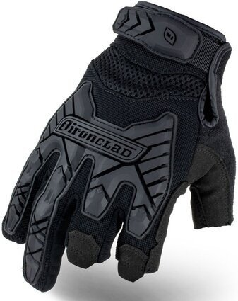 Ironclad Command Tactical Framer Impact Gloves IEXT-FRIBLK TAA Compliant