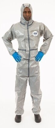 Enviroguard  7215GT Tyvek Like Chemical Resistant Coveralls - Hood
