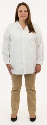Enviroguard 8201 Tyvek Like MP Liquid Resistant Shirts - No Pockets