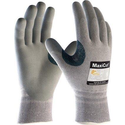 PIP 19-D470 MaxiCut Seamless Knit Dyneema Nitrile Foam Grip Gloves