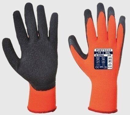 Portwest A140 Hi Vis Thermal Grip Gloves